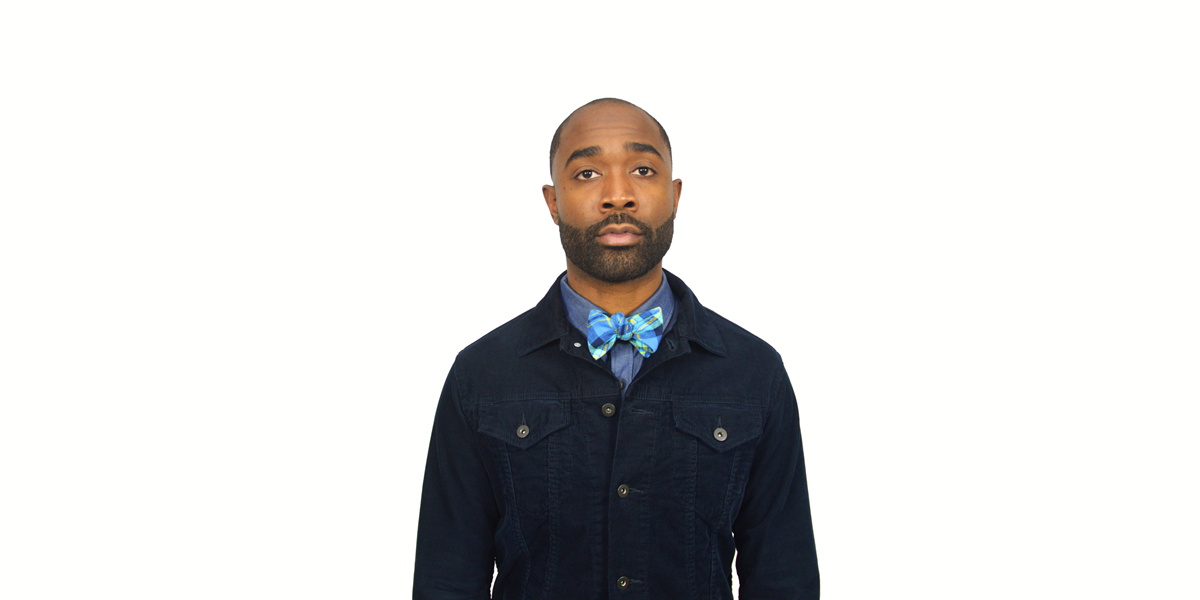 armour philadelphia blue flannel bow tie