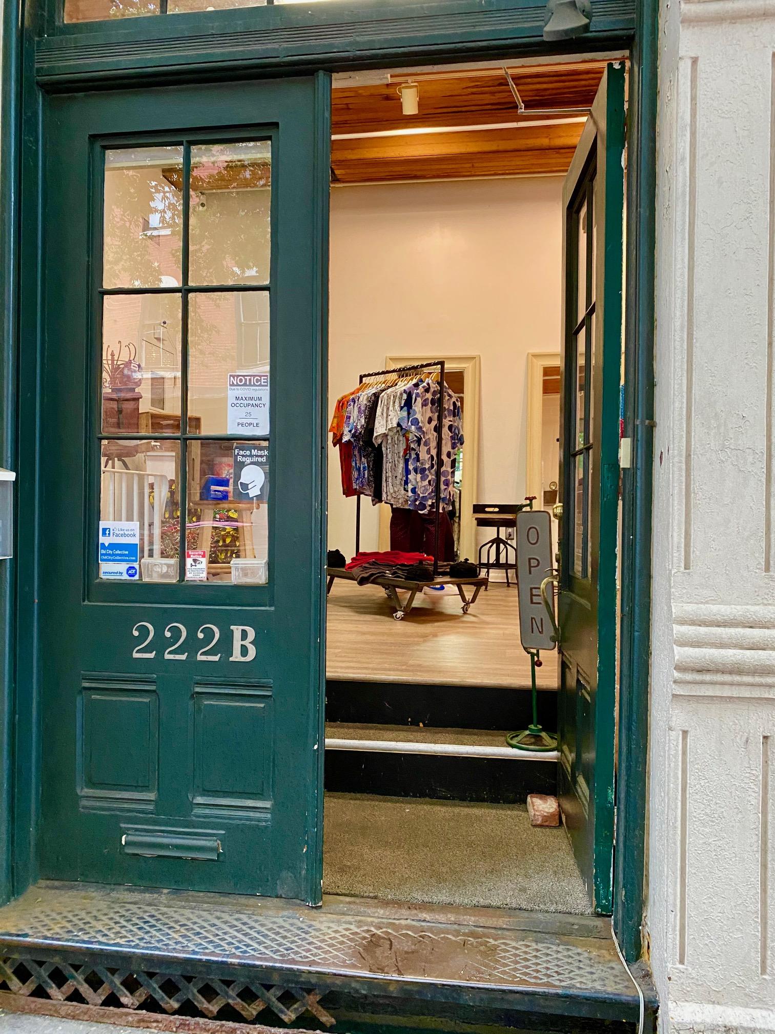 mens fashion pop up shops